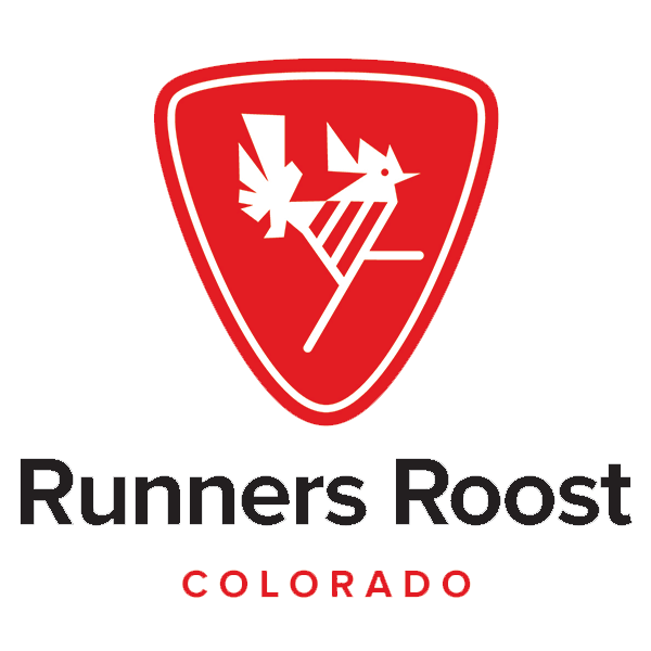 Runners Roost Colorado with Red Rooster Emblem